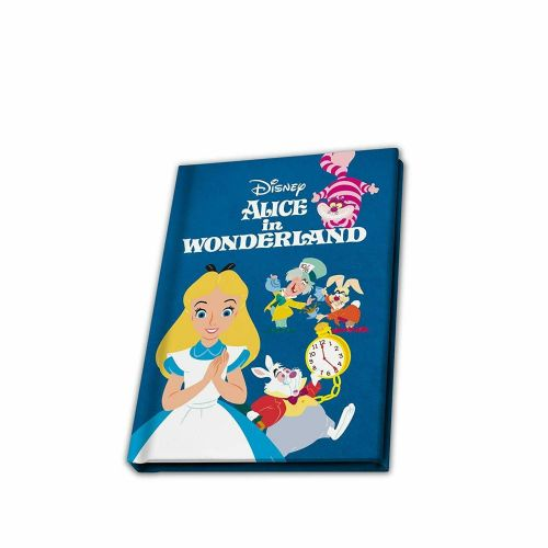 Disney Classic Alice In Wonderland A6 Notebook Note Pad